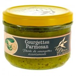 Courgettes Parmesan