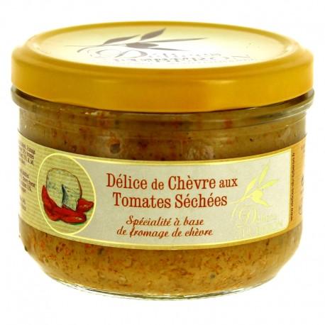 Délice de chèvre aux tomates séchées