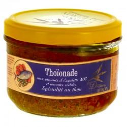 Thoïonade au piment d'Espelette AOC et tomates séchées