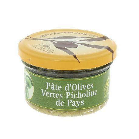 Pâte d'olives vertes Picholine de Pays