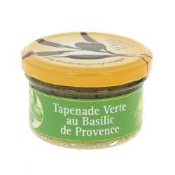 Tapenade verte au Basilic de Provence