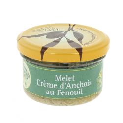 Melet - Crème d'anchois au fenouil