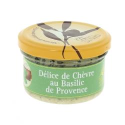 Délice de chèvre au basilic de Provence