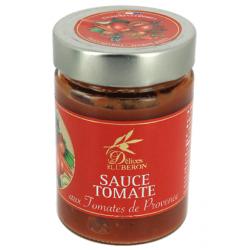 Sauce tomate aux olives noires de pays