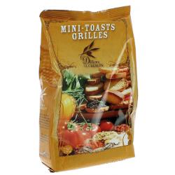 Mini toasts grillés