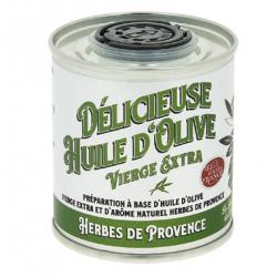 Huile d'olive aromatisée aux herbes de provence - 100 ml