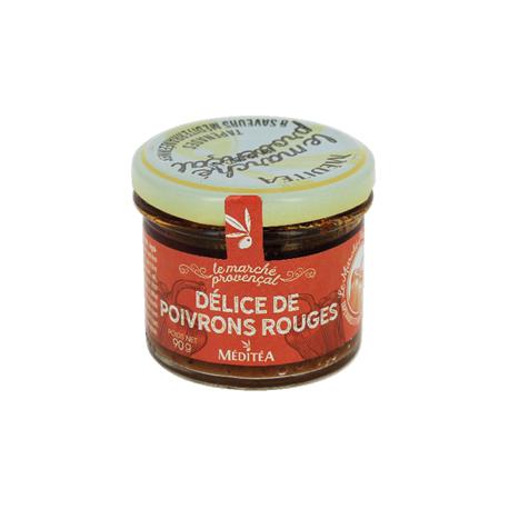 Délice de poivrons rouges