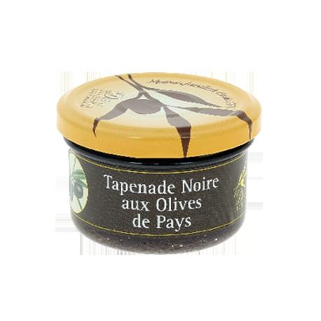 Tapenade noire aux olives de pays