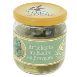 Artichauts au basilic de provence