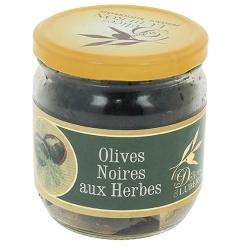 Olives noires aux herbes